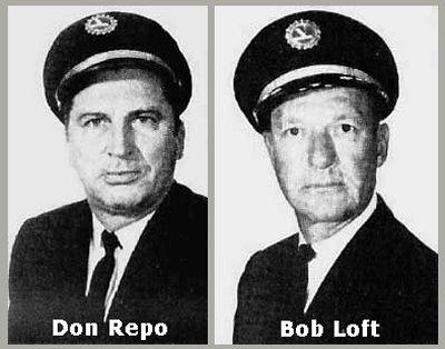 Pilotos del vuelo 401