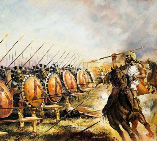ejercito espartano