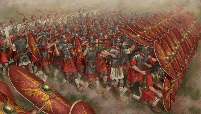 dureza de las Legiones Romanas