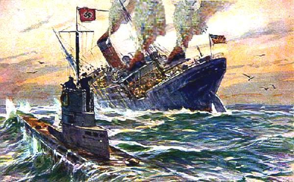 lusitania_u_boat