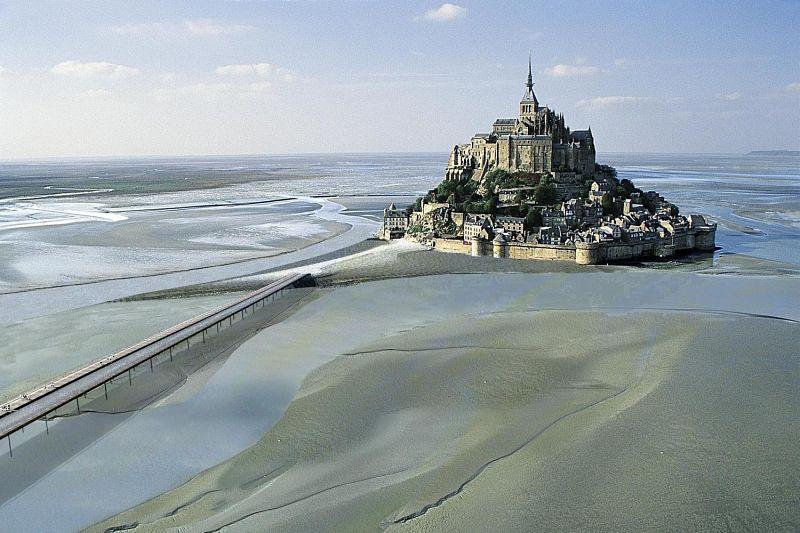 Castillo de Mont Saint-Michel