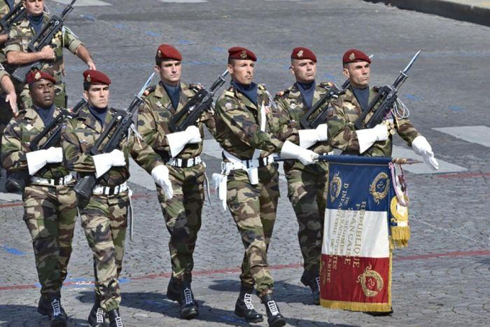 Legion Francesa enfermedad