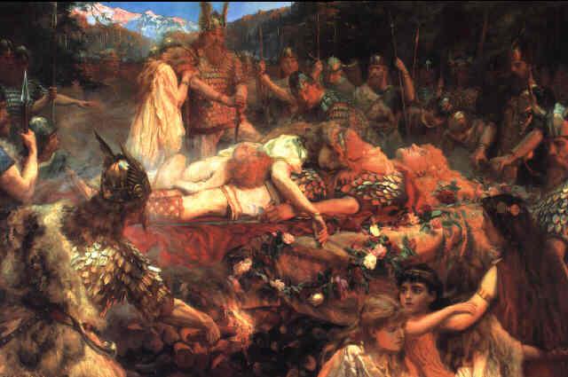 sacrificio humano vikingo