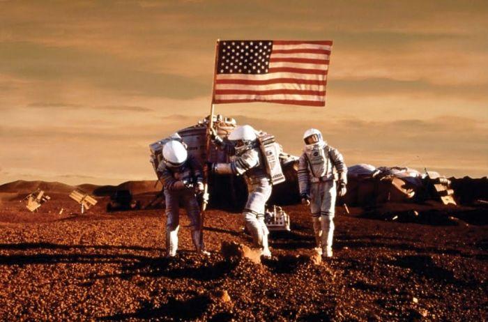 astronautas marte