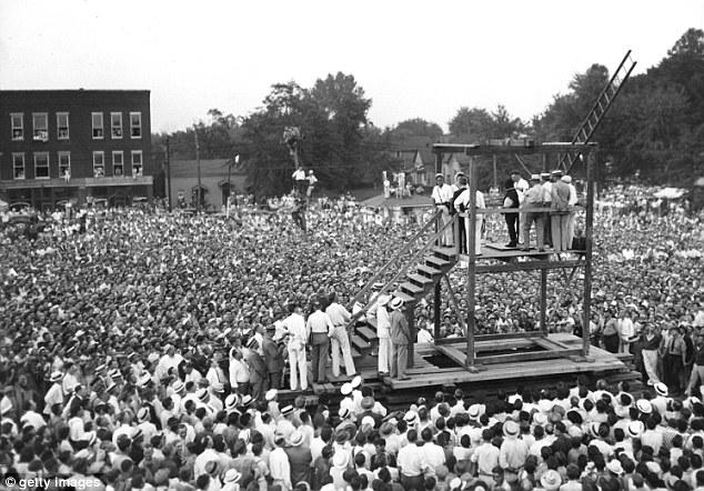 Ultima ejecución pública en Estados Unidos donde asistieron unas 20.000 personas