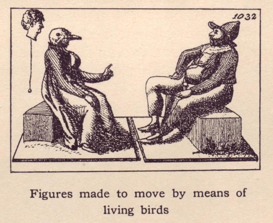 pájaro autómata