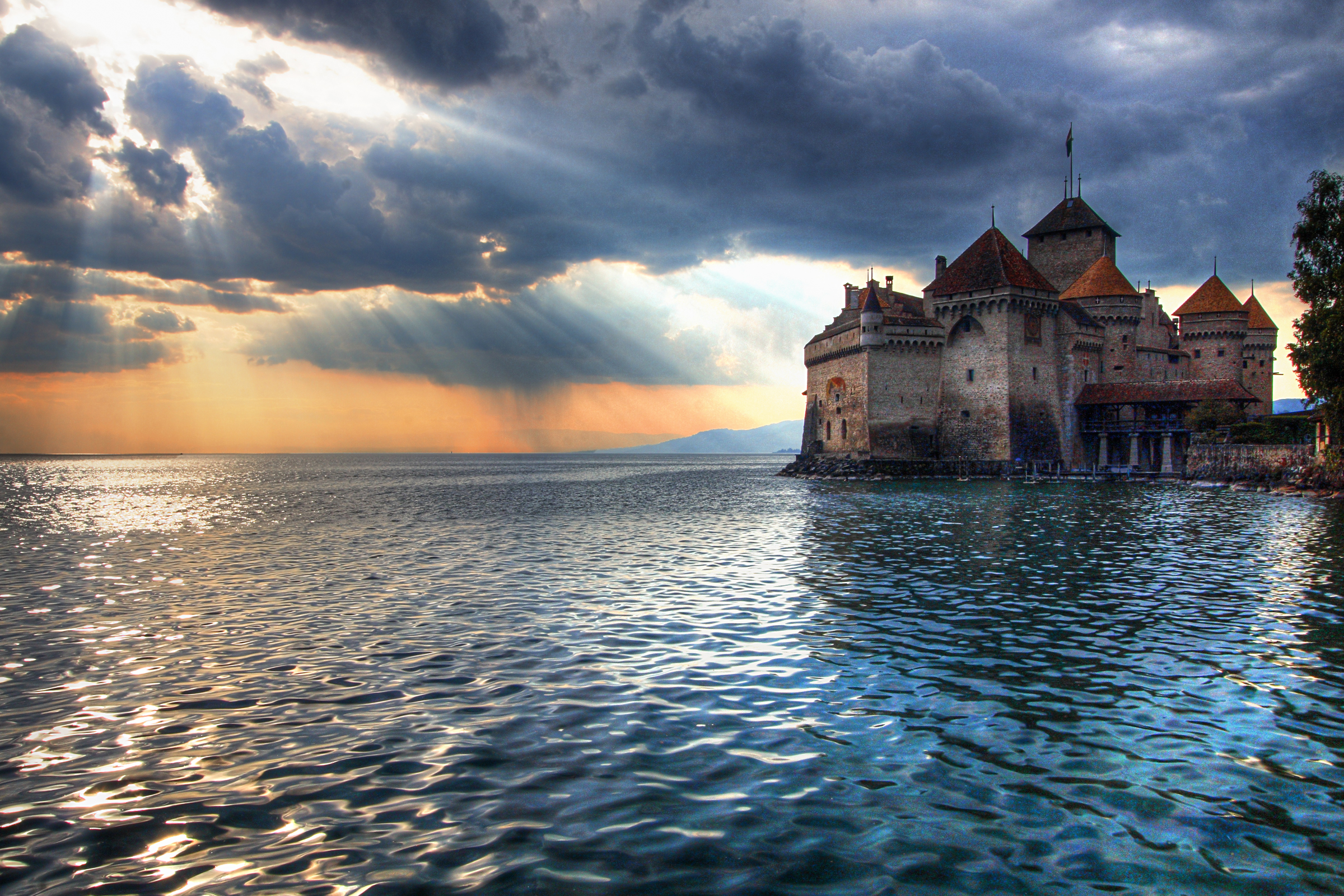 Castillo de Chateau De Chillon