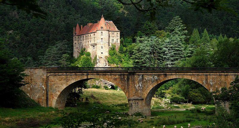 Castillo de Lavoûte Polignac