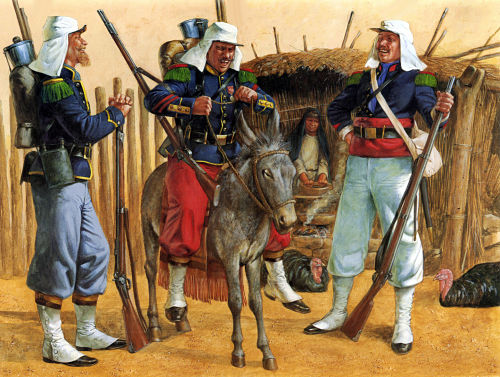 Legion Francesa antiguedad