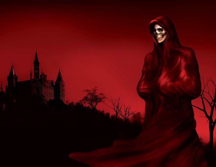 mascar de la muerte roja