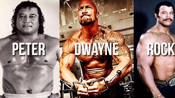 Dwayne Johnson lucha libre