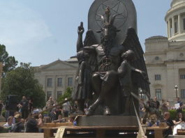 monumento satánico