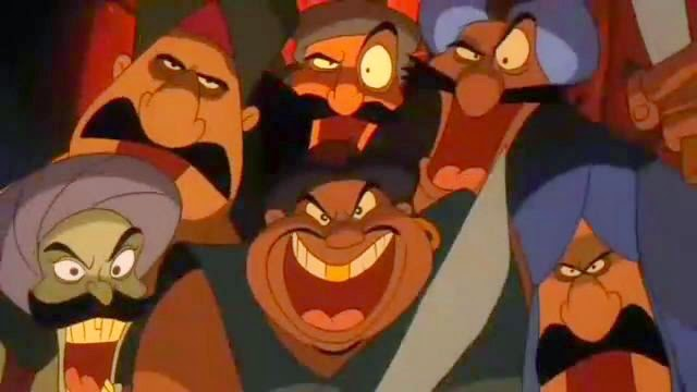 Ali Baba y los 40 ladrones