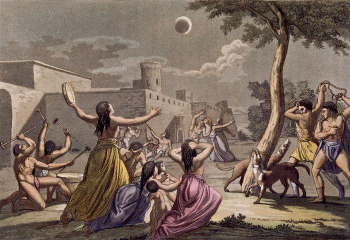 curiosidades de los eclipses de luna