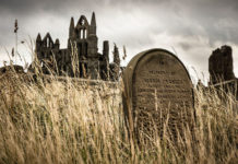 cementerio de la Abadía de Whitby