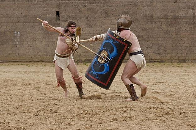 curiosidades de los gladiadores romanos