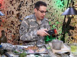 comida militar de Lituania