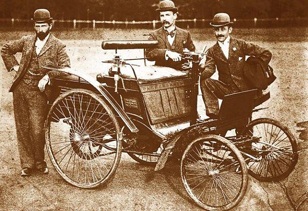 historia de los coches
