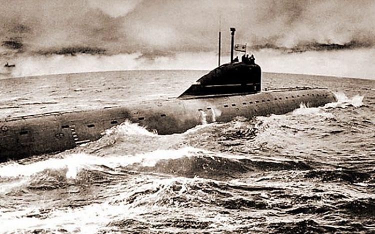 submarinos nucleares sovieticos