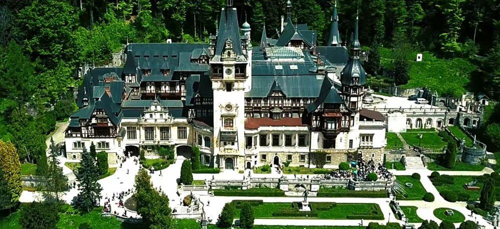 castillo de peles en rumania