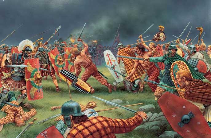 pictos y vikingos
