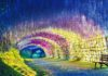 túnel de Wisteria