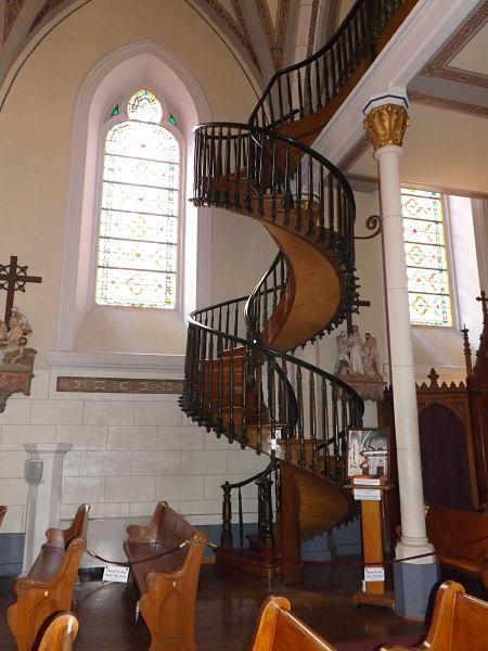 escalera de santa fe nuevo méxico