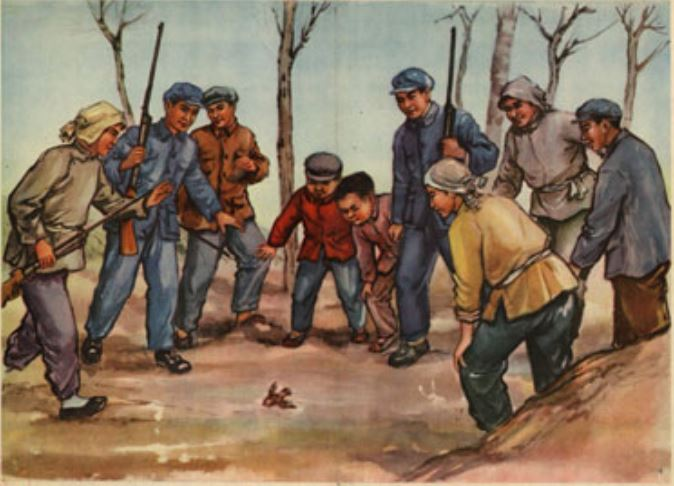 masacre de gorriones