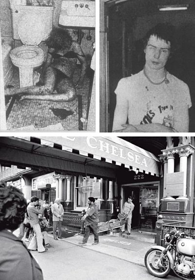 sid vicious hotel chelsea