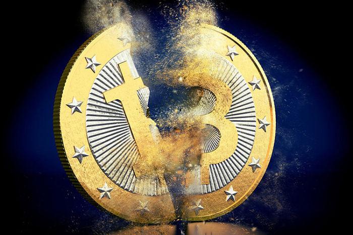 colapso bitcoin