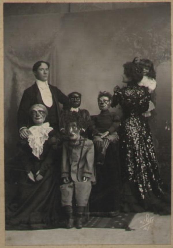 muñecos ventrilocuos historia
