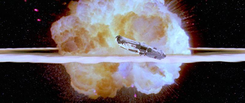explosiones en el espacio