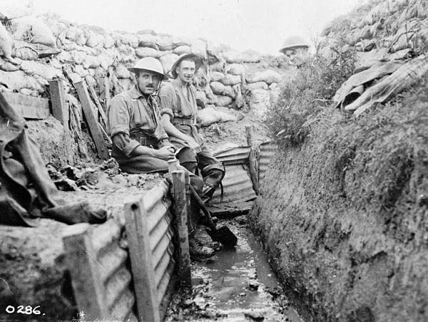 trincheras primera guerra mundial