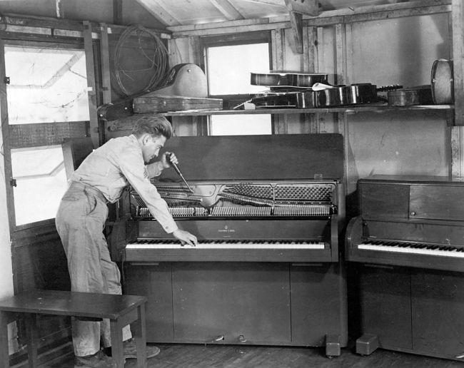 pianos segunda guerra mundial