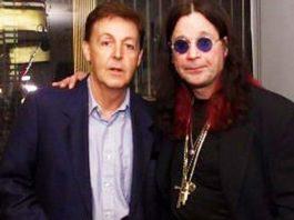 Ozzy Osbourne y Paul McCartney