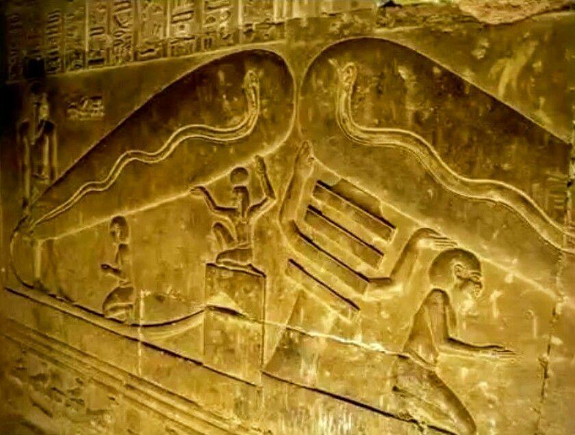 electricidad antiguo Egipto