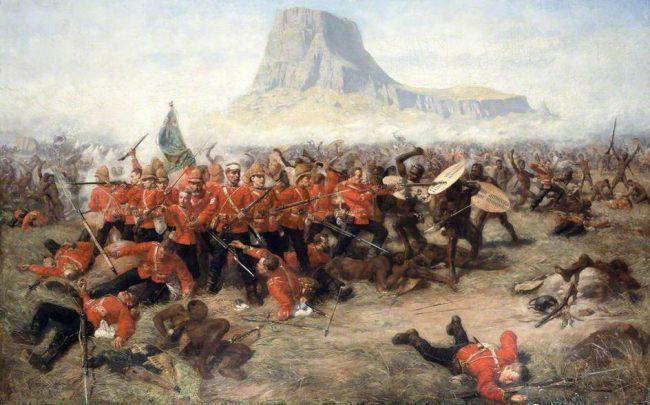 shaka zulu batalla