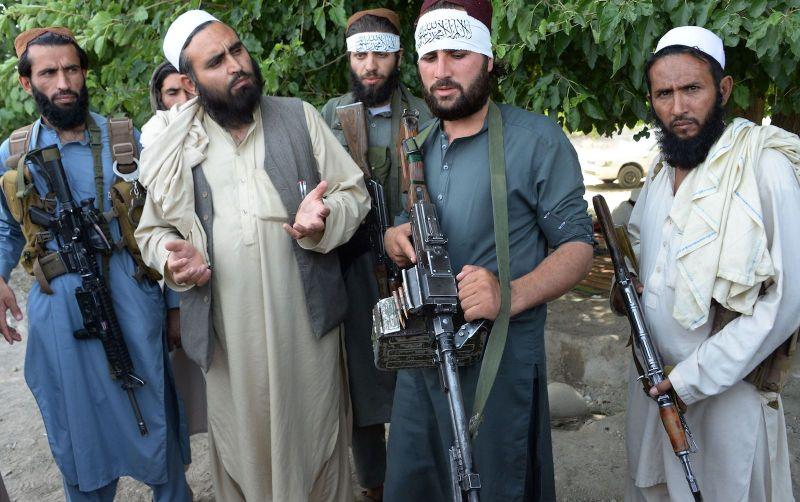 talibanes con entrenamiento de usa