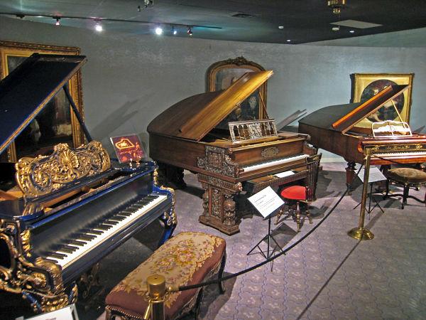 pianos de Liberace