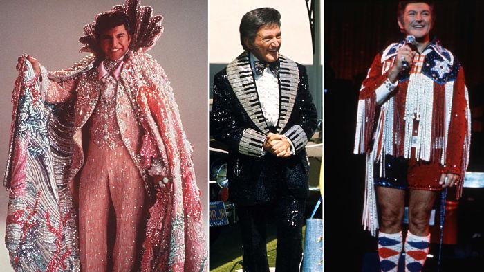 trajes de Liberace