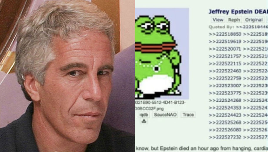Jeffrey Epstein 4chan