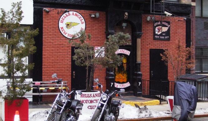 East Village motorcycle gang