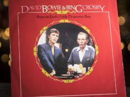 David Bowie y Bing Crosby