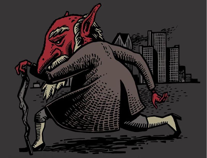 duende rojo