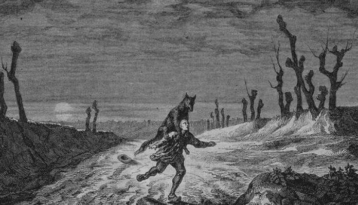 hombres lobo de Condado Franco