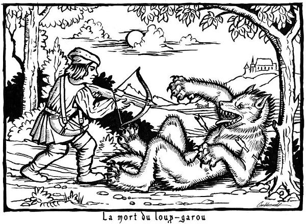 hombres lobo en Francia
