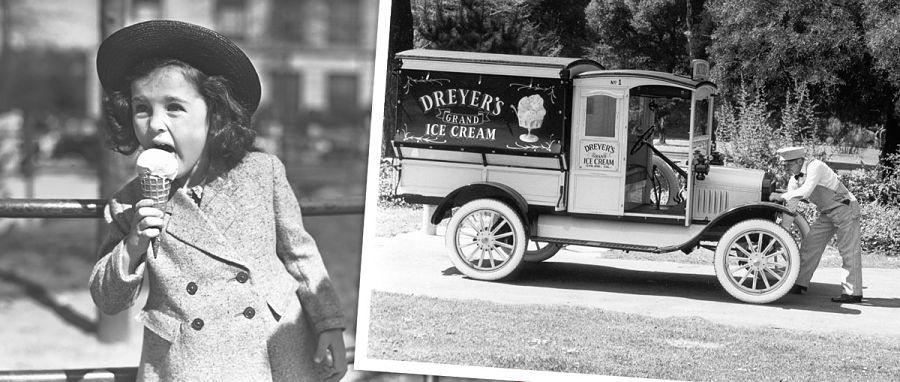 helados en la antigüedad