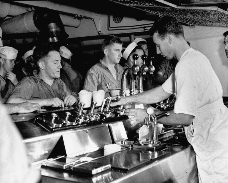 helados y la segunda guerra mundial