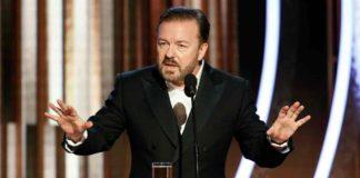 Ricky Gervais en los Globo de Oro 2020