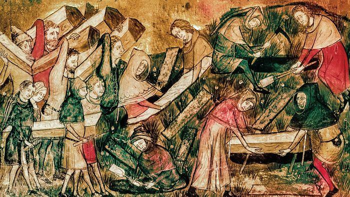 como desaparecio la peste negra